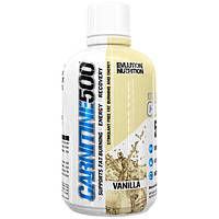 EVLution Nutrition, Carnitine500, Vanilla, 16 oz (465 ml)