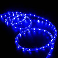 Гирлянда дюралайт LED синего цвета 10 метров10 метров