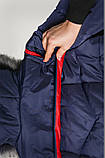 Женская куртка батал на холлофайбере Даша , фото 3