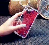 Чехол Liquid Glitter Series 2 IPHONE 7/8 (Red), фото 1