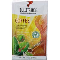 BulletProof, Кофе, Настоящий, Средней обжарки, Цельные зерна 12 унций (340 г)