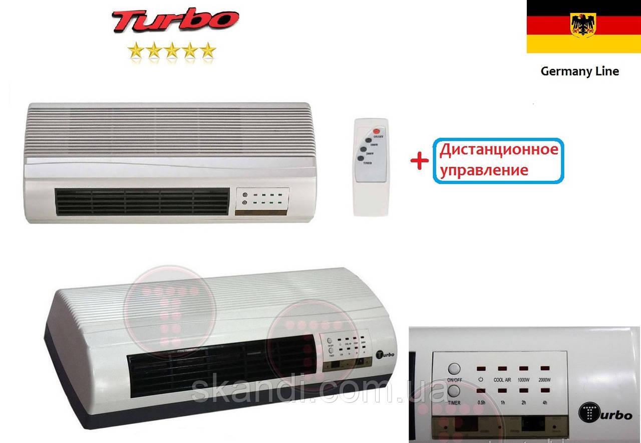 Настенный тепловентилятор ДУ управлении (Керамический)Turbo  - Интернет-магазин <<Skandi>> в Киеве