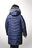 Женская куртка батал на холлофайбере Даша , фото 4