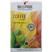 BulletProof, Кофе, Швейцарская вода, без кофеина, Молотый, 12 унций (340 г)
