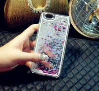 Чехол Liquid Glitter Series 2 IPHONE 7/8 (Silver)