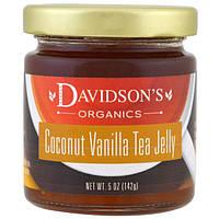 Davidson's Tea, Органический джем из чая с кокосом и ванилью, 142 г (5 унций)