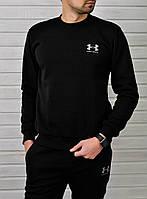 Спортивный костюм Under Armour мужской (черный), ТОП-реплика