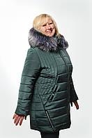 Женская куртка большого размера Валиде (рр.56-62), фото 1