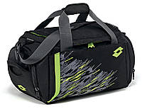 Сумка Lotto Bag Active (T0442) Black/Green Light Neon