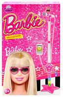Микрофон для девочек на стойке Barbie DS-002-1J