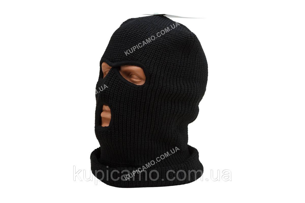 """Шапка-маска балаклава """"Mil-Tec"""" Германия черный"""