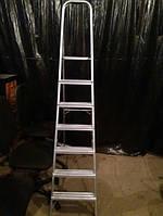 Лестница б/у алюминиевая на 7 ступенек