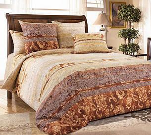 Двуспальный евро комплект постельного белья (перкаль) Амбассадор, фото 2