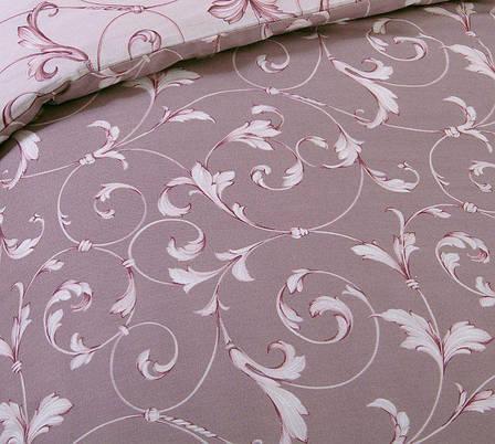 Двуспальный евро комплект постельного белья (перкаль) Габриэль, фото 2