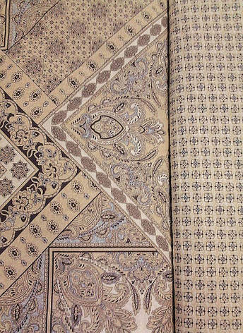 Двуспальный евро комплект постельного белья (поплин) Италия, фото 2