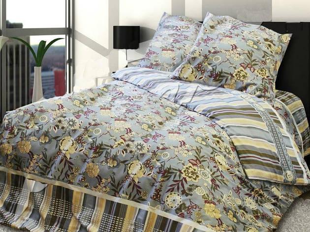 Двуспальный евро комплект постельного белья Девон, фото 2