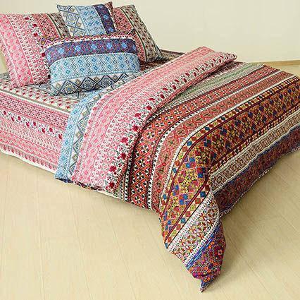 Двуспальный евро комплект постельного белья Единая страна, фото 2