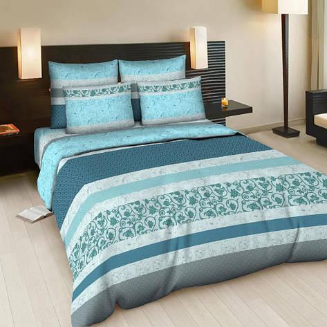 Двуспальный евро комплект постельного белья Корнелия, фото 2