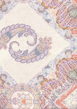 Постельное бельё евро 200*220 сатин (708) TM Viluta, фото 2