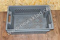 Ящик складський пластиковий,Ящик складской пластиковый 600х400х200мм