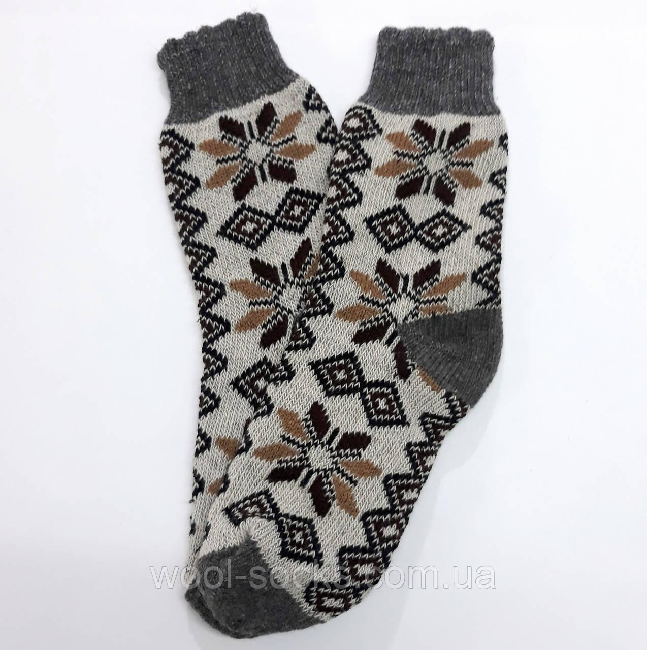Носки из ангорки вязаные