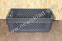 Складський ящик продуктовий 600х400х200мм