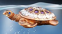 Черепаха малая 5 см. (бронза цветная)