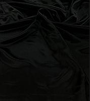 Креп-сатин черный для пошива блузок, юбок, платьев, украшения залов ,карнавальных костюмов,