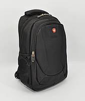 Детский рюкзак SwissGear 0586 черный с отделом для гаджета