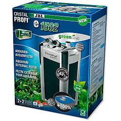 Внешний фильтр  CristalProfi e1502 GreenLine, 1400л\ч (аквариум 160-600л), 60283