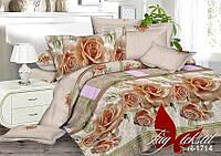 Комплект постельного белья R1714 семейный (TAG-393c)