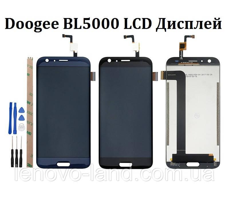 LCD дисплей+сенсор, экран для Doogee BL5000 (Модуль)