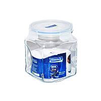 Стеклянный контейнер-банка для хранения сыпучих продуктов с крышкой Glasslock, 1500 мл., квадратный (IP591)