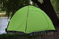Палаткa-зонт для зимней рыбалки Siweida 2м х 2м х 1,75м салатовая, фото 1