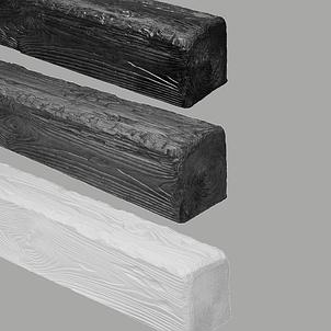 Имитация деревянной балки