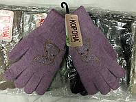 Женская ангоровая,одинарная перчатка™Корона
