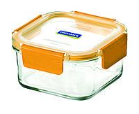 Стеклянный контейнер для хранения с герметичной крышкой с креплениями Glasslock, 1000 мл., квадратный, (MCSW-100P)