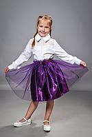 Детская пышная юбка для девочки (1256)