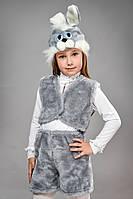 Карнавальный костюм детский Заяц серый