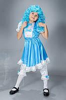 Карнавальный костюм для девочки Мальвина