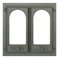 Чугунная каминная дверца 401 SVT 500х500 мм