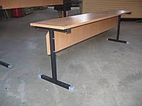 Скамья для школьной столовой 3х местная 1500 мм