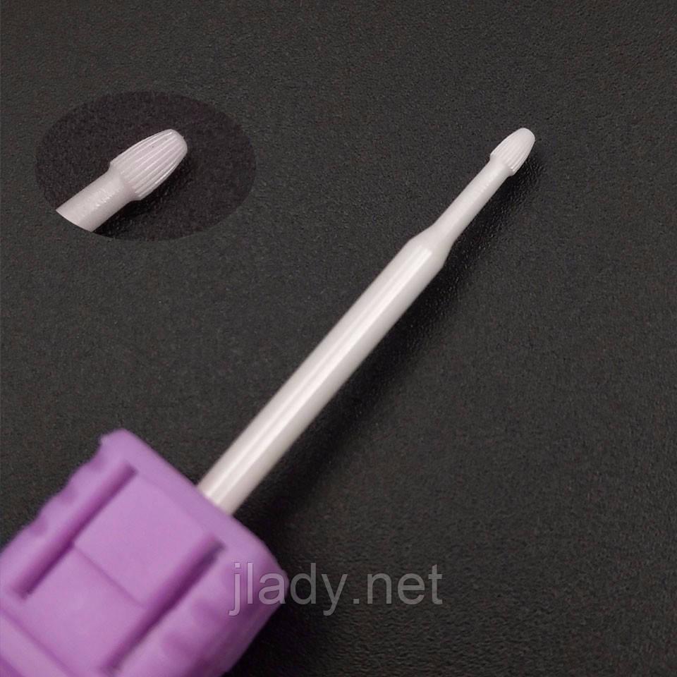 Насадка для фрезера керамическая, шар (1.6 х 3мм.)