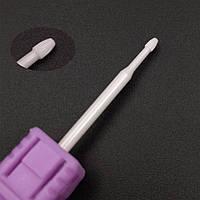 Насадка для фрезера керамическая, шар (1.6 х3мм.)