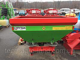 Разбрасыватель минеральных удобрений TYTAN 1000