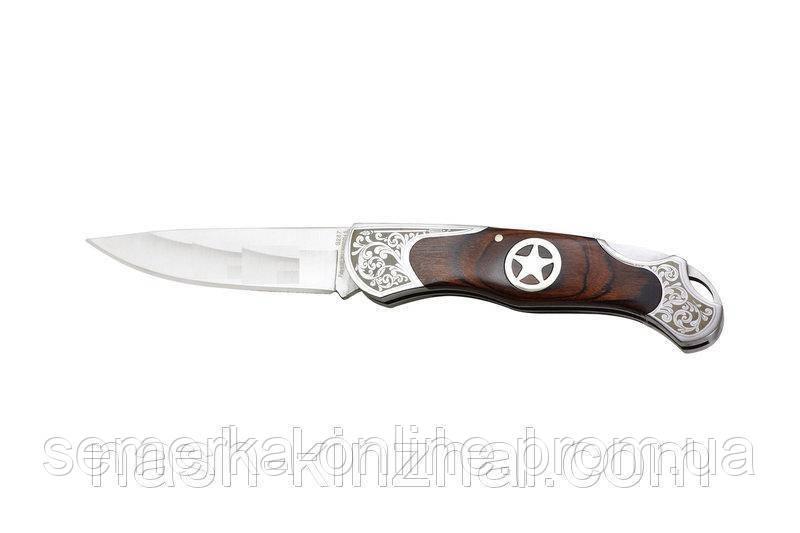 Складной нож Ворон, подарок для активного туриста