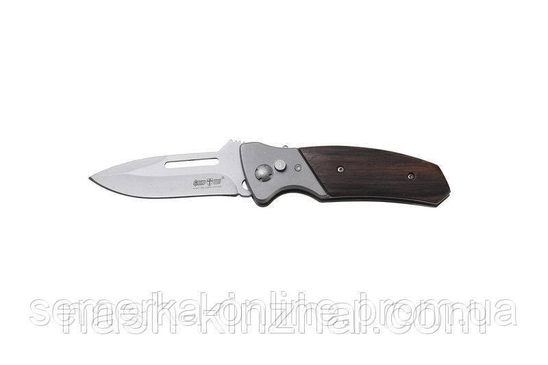 Нож складной. выкидной нож Grandway. Заточка. Очень качественная сталь. Нож для охотника, туриста и рыбака.