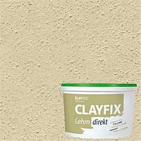 Декоративная глинянная краска мелкозернистая CLAYFIX 1.2 нефритовый, 10 кг