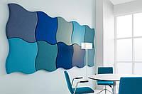 Мягкие стеновые панели, плитка в ткани, панели в ткани, панели в коже на заказ Одессе, фото 1