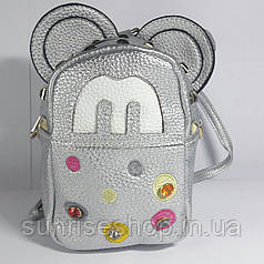 Сумка- рюкзак мини детская с ушками